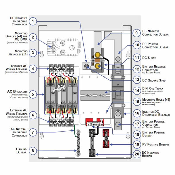 on magnum battery monitor wiring diagram